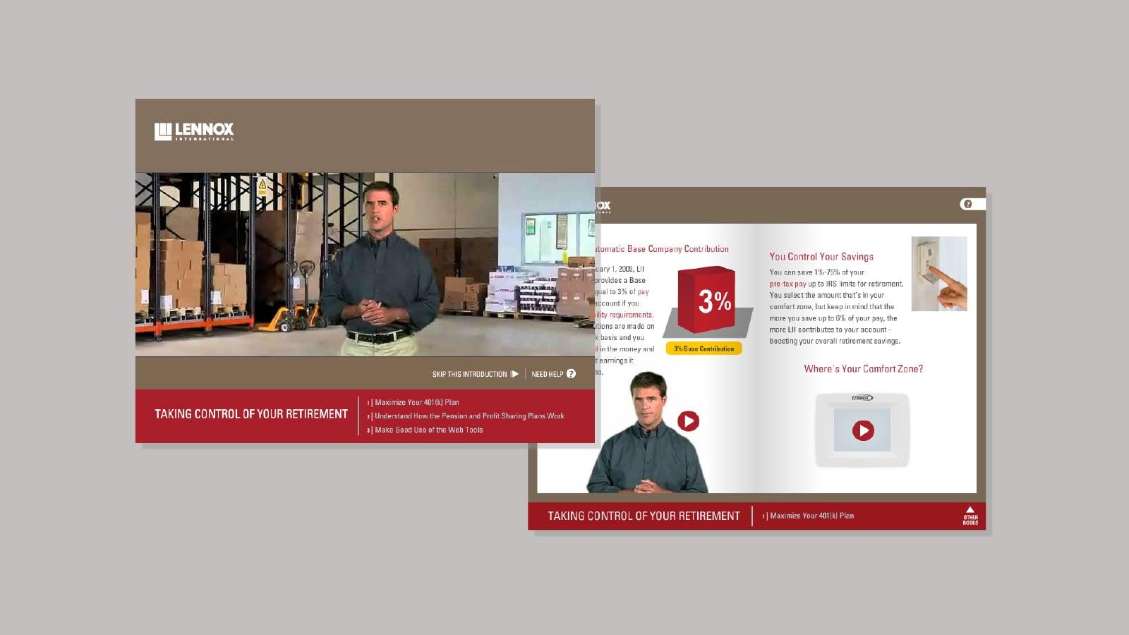 Interactive benefits enrollment site
