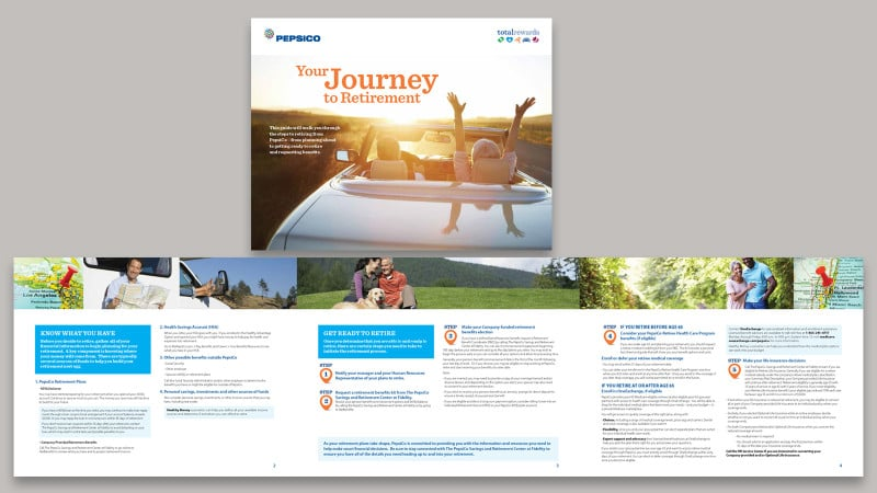 Retirement brochure